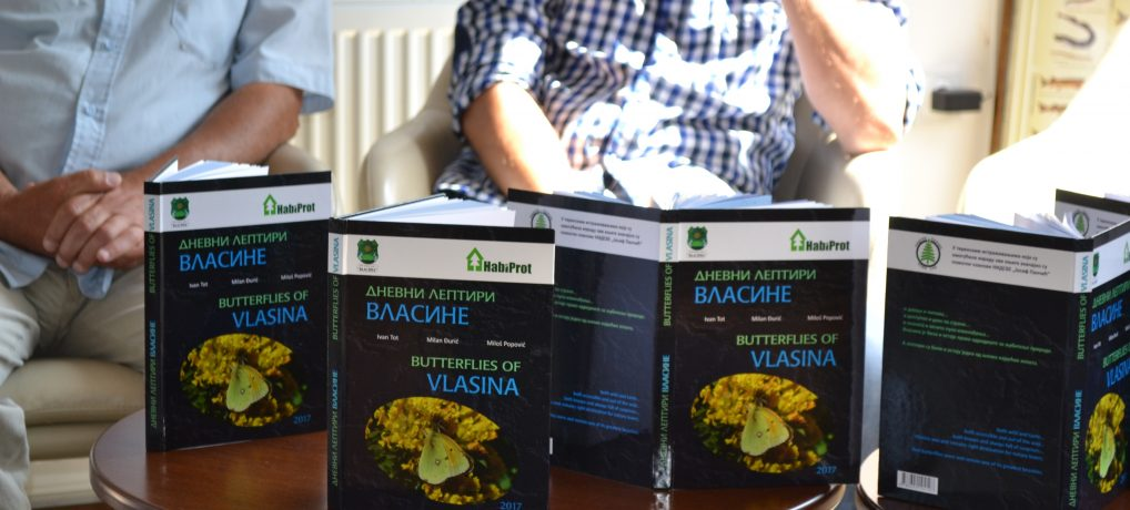 "New publication ""Butterflies of Vlasina"""