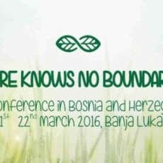 "Rufford Conference ""Nature knows no boundaries"""